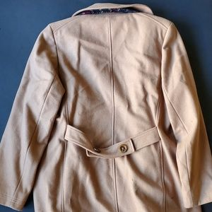 Forecaster of Boston Jackets & Coats - 💍Vintage Forecaster Of Boston Tan Peacoat